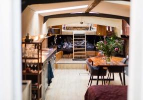 Lijnbaansgracht 335k 1017 XA, Amsterdam, Noord-Holland Netherlands, ,Houseboat,For Rent,Lijnbaansgracht ,1031